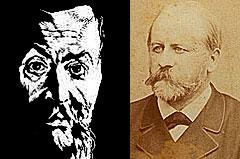 Janez Trdina in Anton Navratil